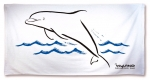 Wyland Sumi-e Art Beach Towel