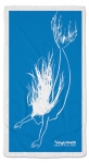 Wyland Sumi-e Mermaid Beach Towel