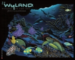 2013 WYLAND VISIONS OF THE SEA WALL CALENDAR