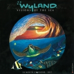 2017 WYLAND VISIONS OF THE SEA WALL CALENDAR