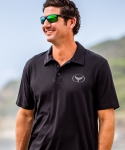 Wyland's Pima Cotton Polo Shirt with Embroidered Logo - Men's