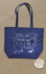 """CHANGE YOUR HABITS"" RECYCLED TOTE BAG"