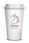 Wyland Cafe Ceramic Traveler with Silicone Lid