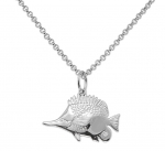 Wyland Longnose Butterflyfish Necklace