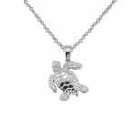 Wyland Sea Turtle Necklace - Small