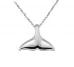 Wyland Killer Whale's Tail Necklace - XL