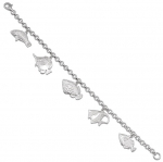 Wyland 5 Assorted Reef Fish Bracelet