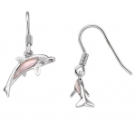 Wyland Dolphin Earrings with Mother of Pearl