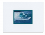 "Waimea Shore Break (16"" x 12"" Matted)"