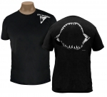 Shark Jaw, Black, Men's Crew Neck Tee