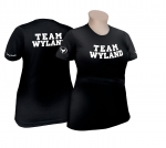 Team Wyland, Black, Women's Crew Neck Tee