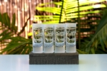 Wyland 'Shark' Reverse Frost Shot Glass -4pc Set