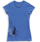 Mermaid, Turquoise, Woman's Crew Neck Tee