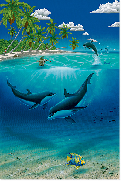 Wyland store dreaming of paradise for Jims exotic fish